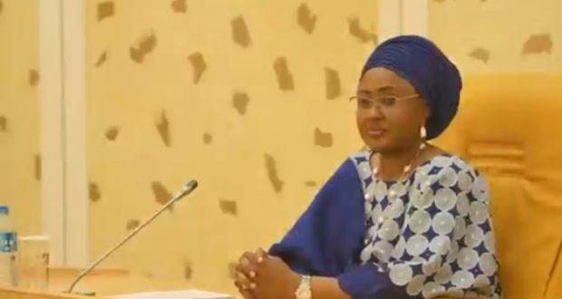Aisha Buhari: urges APC women to work for party's unity.