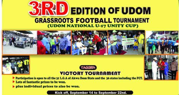 Udom National U17 Tournament Extend Registration Date.