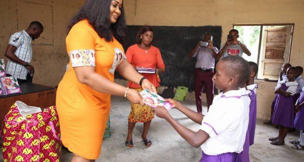 ITU LG V'CHAIRMAN VISITS PRIMARY SCHOOLS IN OKU IBOKU