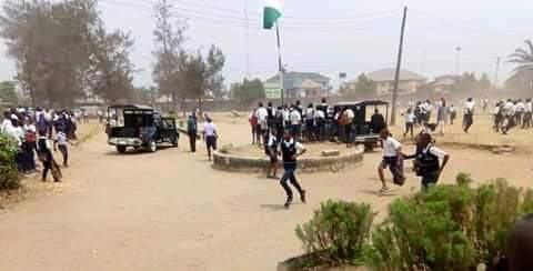 A'Ibom State Government Shuts Down Technical College In Uyo Because Of Students Riot .