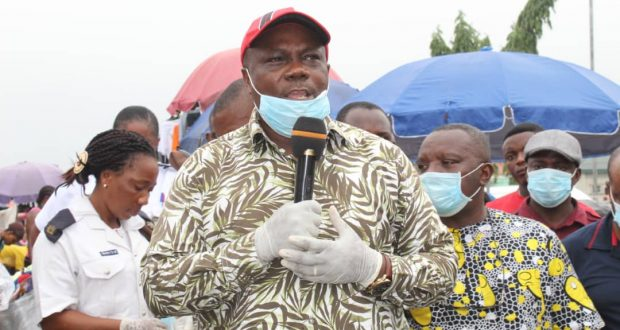 Itu LG Boss Flags-Off Campaign Against COVID-19…Urges Indigenes to Obey Government Directives