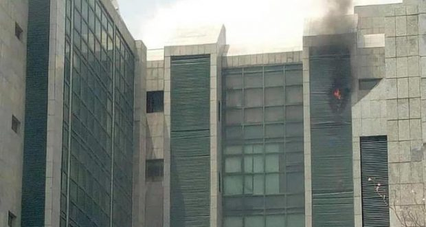 Fire Guts Corporate Affairs Commission, CAC Headquarters In Abuja