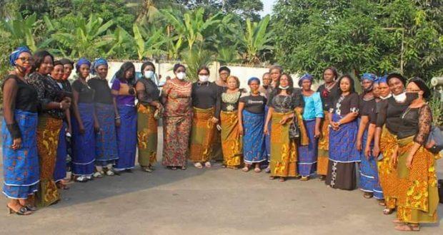 NSIT IBOM WOMEN STAKEHOLDERS CONDOLE WITH NKANGA'S FAMILY