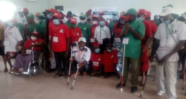 NDDC Trains, Empowers 92 physically challenged people in Ikot Ekpene