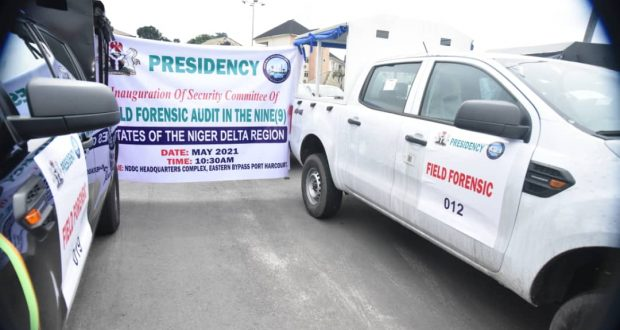 Akpabio handovers 33 Vehicles for NDDC Field Forensic Audit