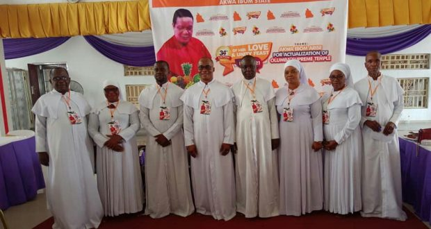 Brotherhood of The Cross And Star Holds 34th Love and Unity Feast