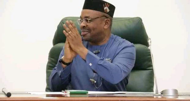 GOV. UDOM EMMANUEL: A Scammer in the Eyes of the Opposition