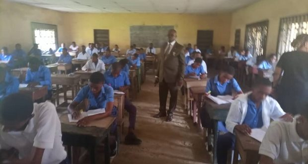 Udom's Aide Commends Students on Good Conduct During Examinations