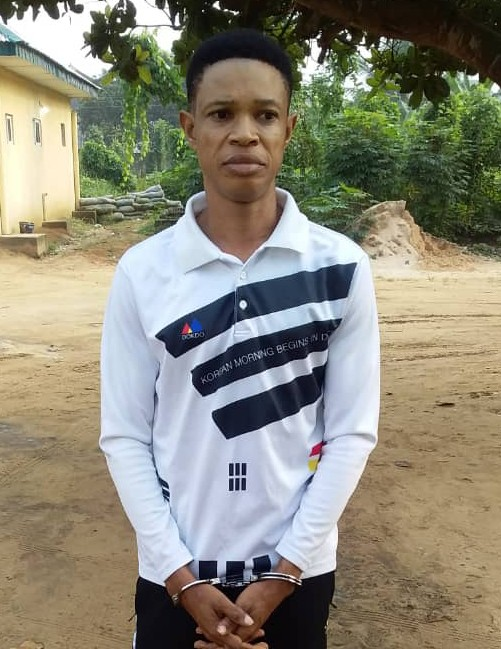 FAKE PASTOR NABBED WITH MYSTICAL OIL AND BOOK IN A'IBOM, defrauds his victims. … uses ladies' panties for diabolical activities
