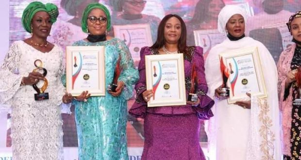 Akwa Ibom Gov's Wife Shines at the 2021 Independent Awards