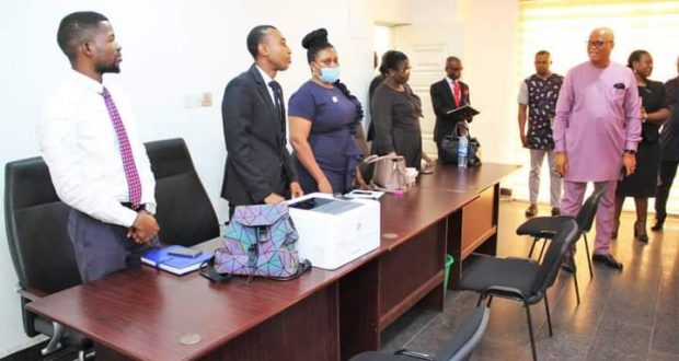 Ibom FADAMA Microfinance Bank Sets to Commence Operation … As Board Chairman pays on the Spot Inspection visit